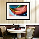 Brillante color Framed Canvas Print