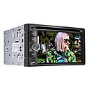"""6.2 """"pantalla táctil LCD de 2 din coche reproductor de DVD en el tablero, bluetooth, GPS, iPod, juegos, radio estéreo, atv"""