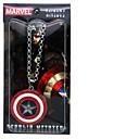 Capitán América Shield Collar Película cosplay accesorios