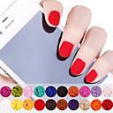 12PCS Velvet polvo multicolor 10g Decoración de uñas de arte (color al azar)