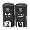 Meyin RF-604 Wireless Agrupación TTL Flash Trigger Set para Cannon 5D3 / 5D2 / 60D / 650D / 7D - Negro