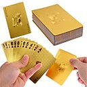 24K Oro Foil Poker Naipes