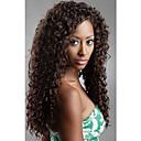20inch Malasia india rizada del pelo humano de Remy pelucas delanteras para dama de la moda