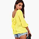 camisa de colores de gran tamaño de estilo de la ciudad de las mujeres