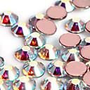 1440PCS Glitter AB Rhinestone Decoración de uñas de arte