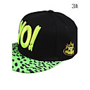 Womens And Mens Fashion Leopard Print Letter Baseball Hat