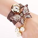 c  d 2014 nuevas mujeres del taladro del remache pulsera mariposa visten relojes xk-181