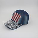 alices vaqueros en dificultades americana modelo de la bandera diamonade gorra de béisbol ywbzs154