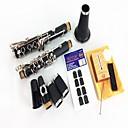 B Clarinete Clarinete Instrumento Sección Doble  2 Reed  Tooth Pad