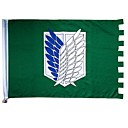 Attack On Titan Wings of Freedom Cosplay Flag