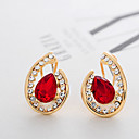 LAIQI Diamond Section Earrings