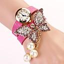 c  d 2014 nuevas mujeres del taladro del remache pulsera mariposa visten relojes xk-176