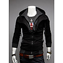 ZOMOT Men's Long Sleeve Slim Hoodie Causual Contrast Color Sweatshirts