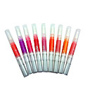 (Mixiu) Color ajustable y giratorio Lipstick Pigmento Labial F Señora