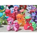 My little pony Acción Loose figuras de juguete 4-6cm Pony Littlest Figura regalo para los cabritos