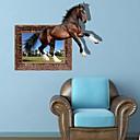 3D El caballo pegatinas de pared Tatuajes de pared