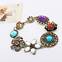 Pengchen Vintage Flower Fine Diamond Bracelets