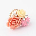 anillo de diamantes de apertura floral pengchen dulce