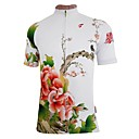 Getmoving Womens Polyester and Spandex Short Sleeve Cycling Jersey