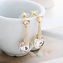 LAIQI Diamond Pendant Earrings