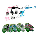 SIYOTEAM ST-115 USB 2.0 Micro SD/Micro TF Card Reader (Assorted Color)