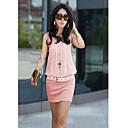 El One  Only Contraste de color Vestido N6186054 de la Mujer