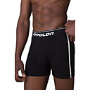 APPOLONMens Underwear Features Reinforced Pouch Boxer Shorts 1 Pack Two Pieces White and Black