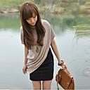 El One  Only Contraste de las mujeres del color de dos piezas de igual vestido dulce XJB33606