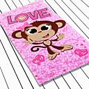 100% del mono de la historieta del algodón de la impresión de la toalla de playa con bolsa