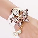 c  d 2014 nuevas mujeres del taladro del remache pulsera mariposa visten relojes xk-172