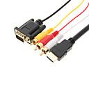 Image of Di alta qualità HDMI per VGA/3RCA Cable