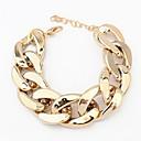 cadena pengchen sencilla pulsera salvaje (oro)