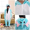 Cute Blue Elephant Kids Kigurumi Pajamas Sleepwear