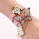 c  d 2014 nuevas mujeres del taladro del remache pulsera mariposa visten relojes xk-180