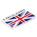 8  5,1 cm Modelo de la bandera de Inglaterra Inglés emblema de aluminio de la motocicleta DIY Sticker Decal