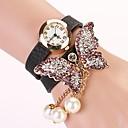 c  d 2014 nuevas mujeres del taladro del remache pulsera mariposa visten relojes xk-178
