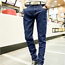 2014 estilo coreano flaco delgado Denim Jeans