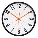 """11.8 """"Cuadro Negro Negro Figura Mute reloj de pared"""