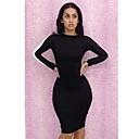 El One  Only Contraste de color atractivo del vestido de la mujer N6186220