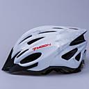 LUNA Ciclismo Silver PC / EPS 21 Vents luminoso Advertencia Bike Helmet