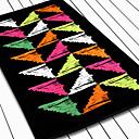 100% algodón Triángulo toalla colorida Imprimir Beach
