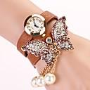 c  d 2014 nuevas mujeres del taladro del remache pulsera mariposa visten relojes xk-174