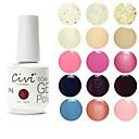 Civi UV Color Gel Nail Polish No.81-100(15ml,Assorted Colors)