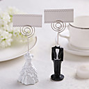 TuxedoGown Resin Place Card Holder
