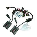 12V 35W H7 10000K HID Xenon Lamp Kit de conversión fijado con el soporte de montaje (Negro lastre delgado)