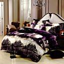 sofeiya patrón de color brillante impresión de cuatro piezas de cama