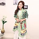 Women's Pretty China Elements Printed Viscose Long Scarf