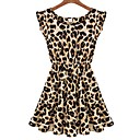 Songyi Women's Casual Leopard Dress