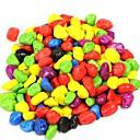 100g de colores Piedras decorativas para el tanque de pescados de la decoración