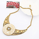 Pengchen European And American Style Vintage Necklace(Cream)
